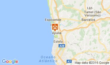 Mapa Apúlia Apartamentos 107000