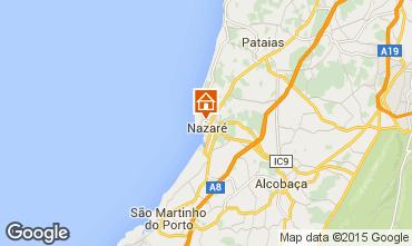 Mapa Nazaré Apartamentos 38906