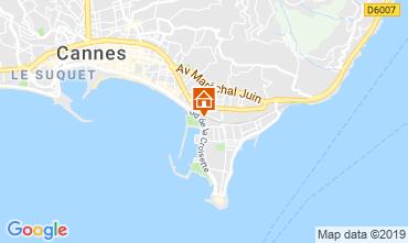 Mapa Cannes Apartamentos 45923