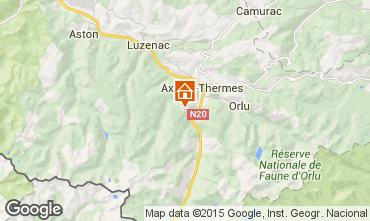 Mapa Ax Les Thermes Chalé 67769