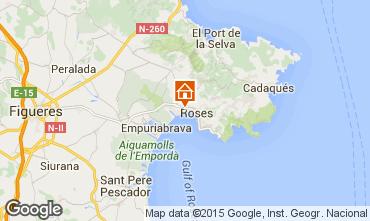 Mapa Rosas Apartamentos 50542