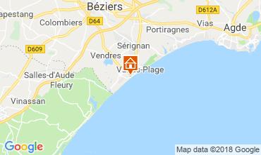 Mapa Valras-Praia Vivenda 117077