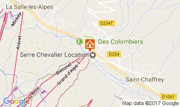 Mapa Serre Chevalier Apartamentos 51095