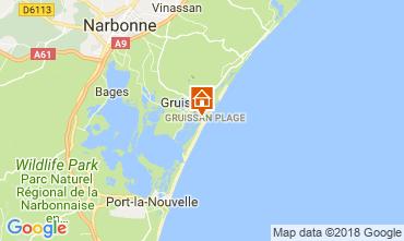 Mapa Gruissan-Plage Apartamentos 114582
