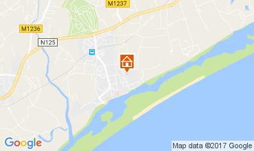 Mapa Cabanas de Tavira Apartamentos 108323