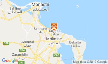 Mapa Monastir Apartamentos 117701