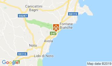 Mapa Avola Vivenda 95053