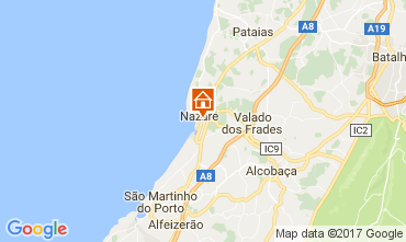 Mapa Nazaré Apartamentos 108779