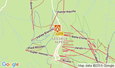 Mapa Les 2 Alpes Apartamentos 106447