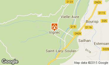Mapa Saint Lary Soulan Apartamentos 79407