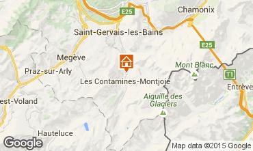 Mapa Les Contamines Montjoie Estúdio 83214