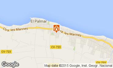 Mapa Dénia Apartamentos 31192