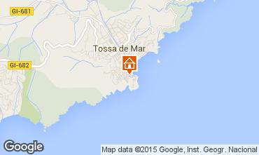 Mapa Tossa de Mar Apartamentos 76967