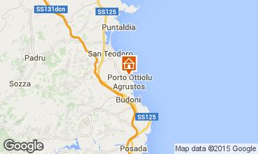 Mapa San Teodoro Apartamentos 80905