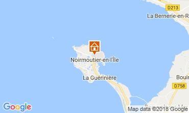 Mapa Noirmoutier en l'Île Casa 115256
