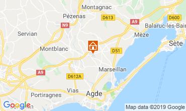 Mapa Marseillan Vivenda 117376