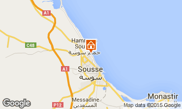 Mapa Sousse Apartamentos 80547