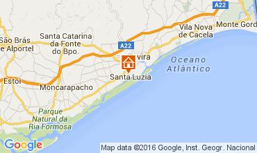 Mapa Tavira Apartamentos 105023