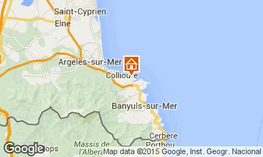 Mapa Collioure Apartamentos 49274