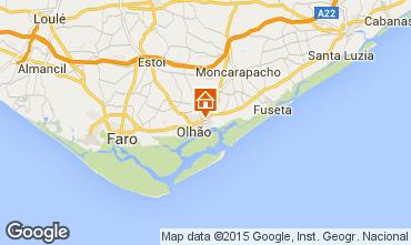 Mapa Olhão Apartamentos 89473