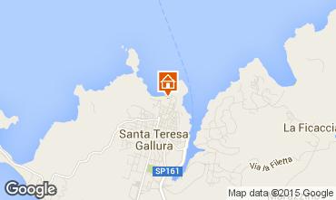 Mapa Santa Teresa di Gallura Apartamentos 84500