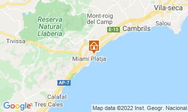 Mapa Miami Playa Apartamentos 117874