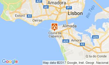Mapa Costa da Caparica Apartamentos 108440