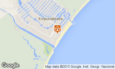 Mapa Empuriabrava Apartamentos 66335