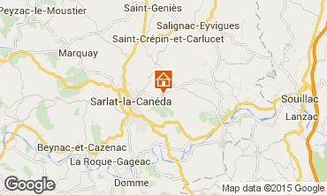 Mapa Sarlat Casa 59161