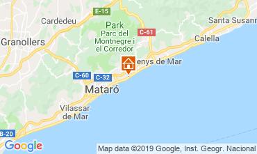 Mapa Barcelona Apartamentos 76574
