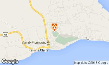 Mapa Saint Francois Apartamentos 84836