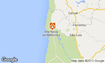 Mapa Vila Nova de Milfontes Vivenda 46746