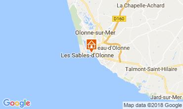 Mapa Les  Sables d'Olonne Apartamentos 114771