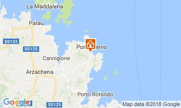 Mapa Porto Cervo Quarto de hóspedes insólito 115523