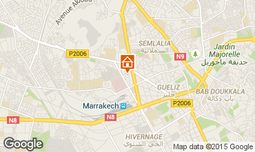 Mapa Marraqueche Apartamentos 28067