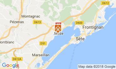 Mapa Mèze Apartamentos 115797
