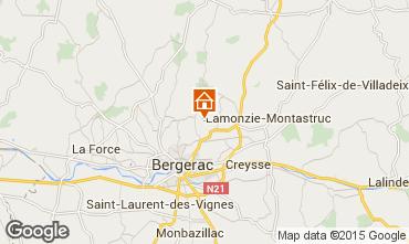 Mapa Bergerac Casa de turismo rural/Casa de campo 81835