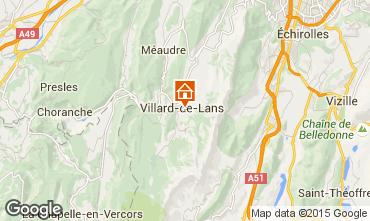 Mapa Villard de Lans - Corren�on en Vercors Apartamentos 79537