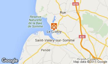 Mapa Le Crotoy Casa 64382