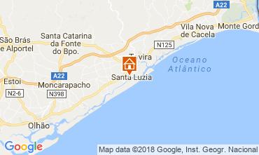 Mapa Tavira Apartamentos 115746