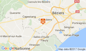 Mapa Beziers Casa 111289