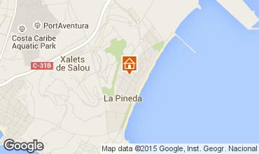 Mapa La Pineda Apartamentos 22959
