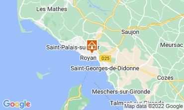 Mapa Royan Apartamentos 55283