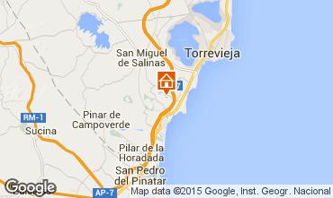 Mapa Torrevieja Vivenda 39657
