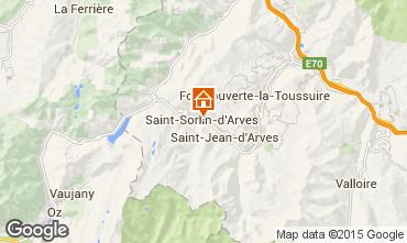 Mapa Saint Sorlin d'Arves Apartamentos 73895