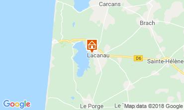 Mapa Lacanau Vivenda 112923