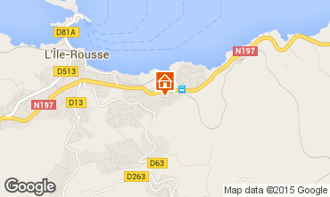 Mapa Location Ile Rousse Apartamentos 1377