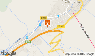 Mapa Chamonix Mont-Blanc Apartamentos 32184