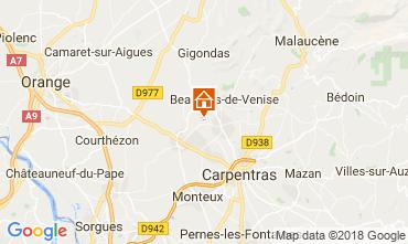 Mapa Aubignan Apartamentos 113586