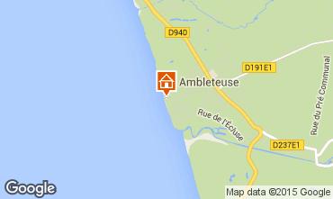 Mapa Ambleteuse Apartamentos 81109